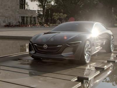 Opel Monza Teaser